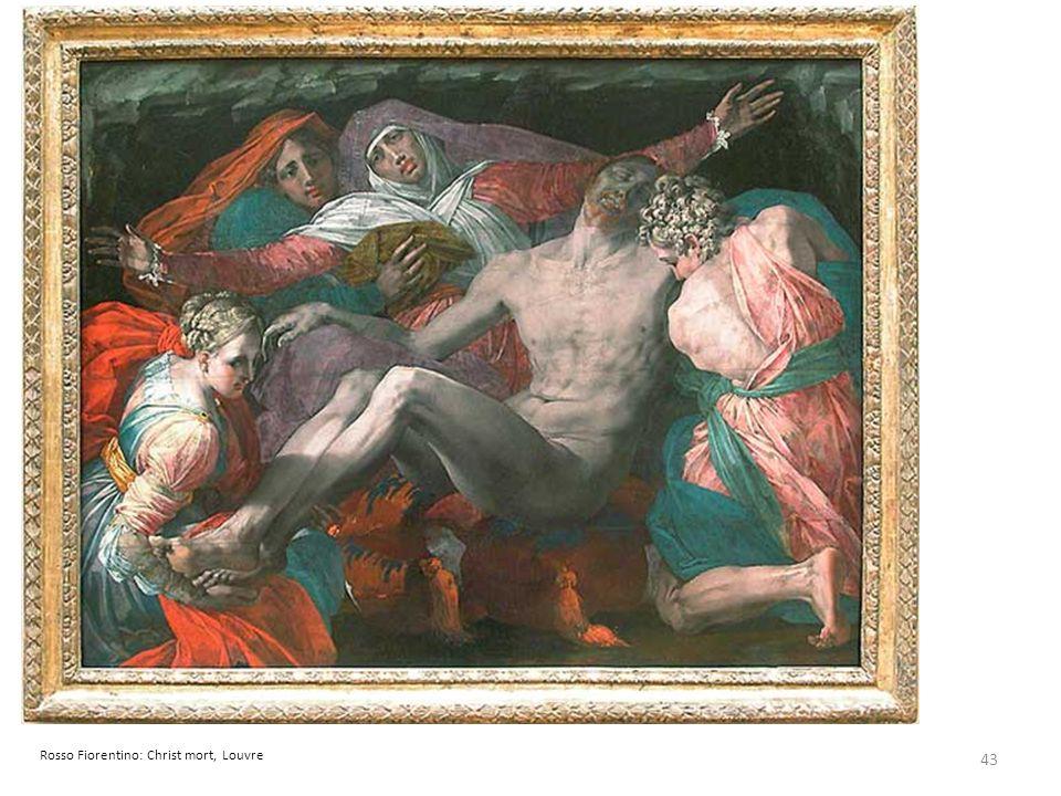 Rosso Fiorentino: Christ mort, Louvre