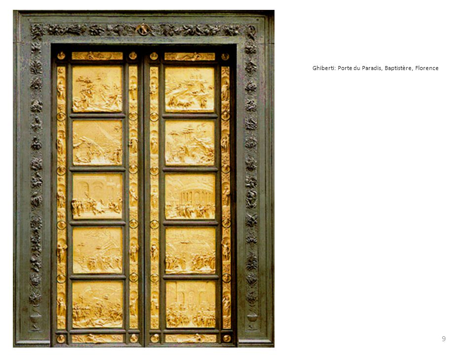 Ghiberti: Porte du Paradis, Baptistère, Florence