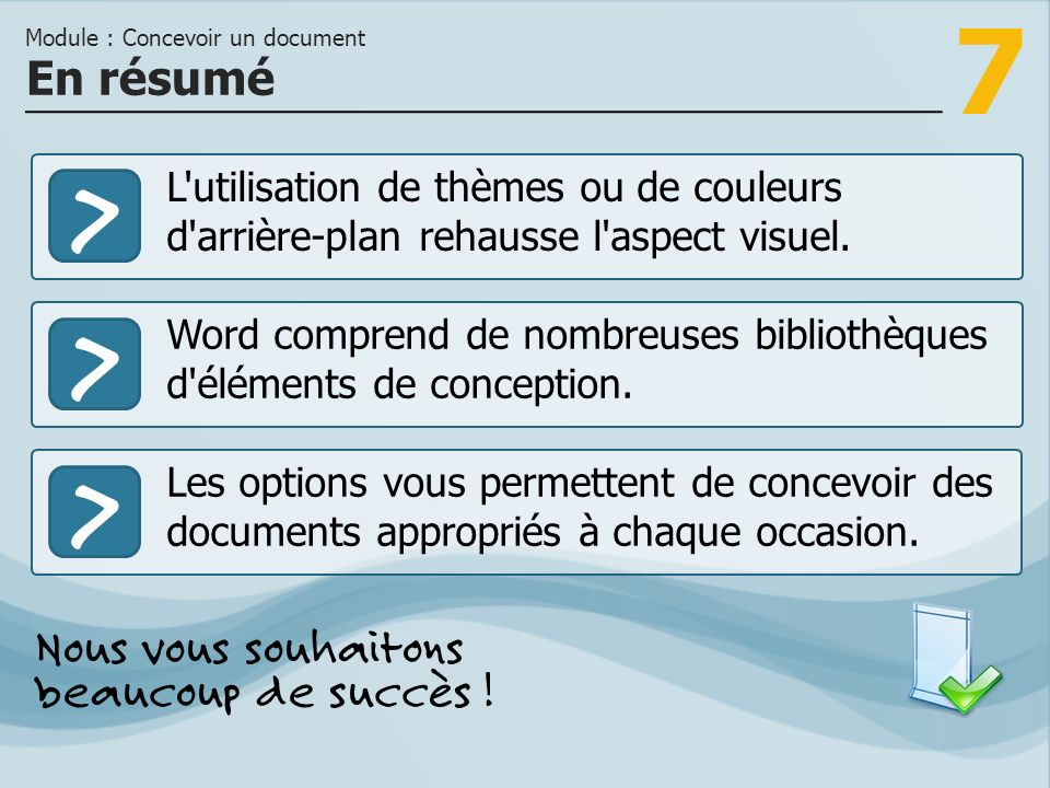 Module : Concevoir un document
