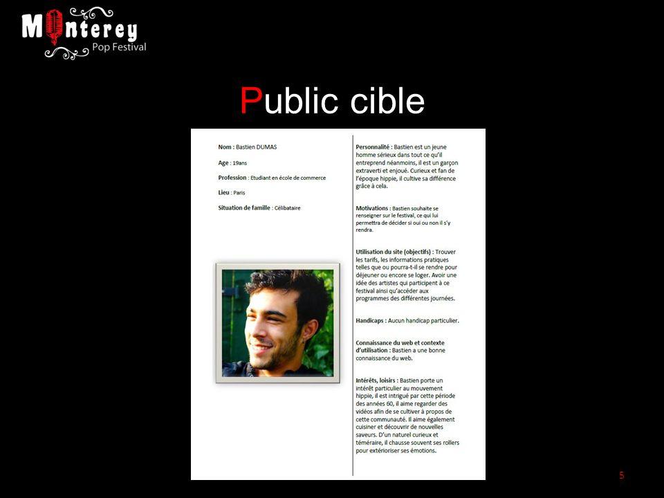 Public cible