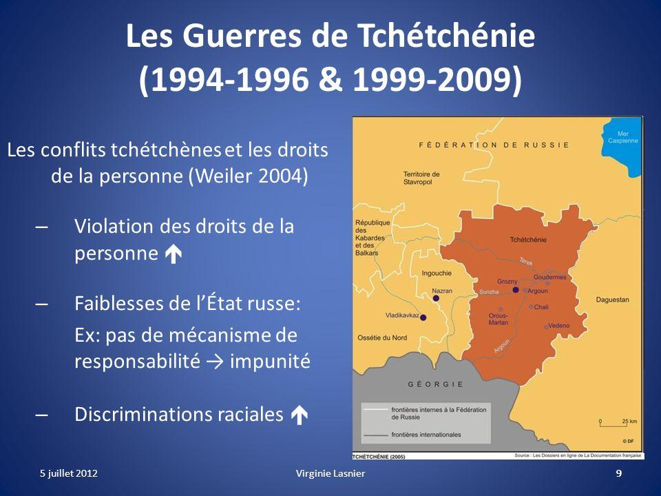 Les Guerres de Tchétchénie (1994-1996 & 1999-2009)
