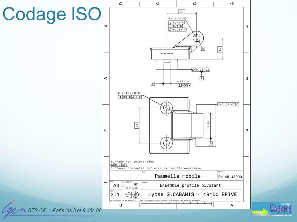 Codage ISO