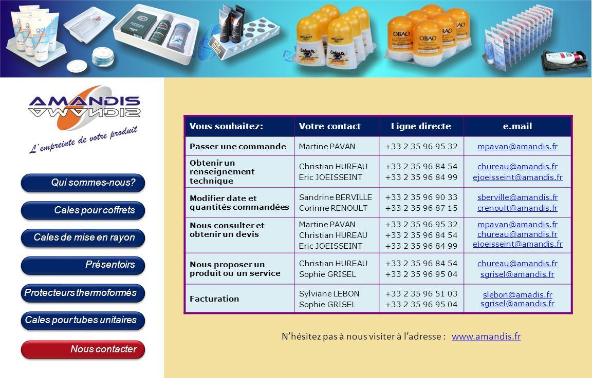 N'hésitez pas à nous visiter à l'adresse : www.amandis.fr