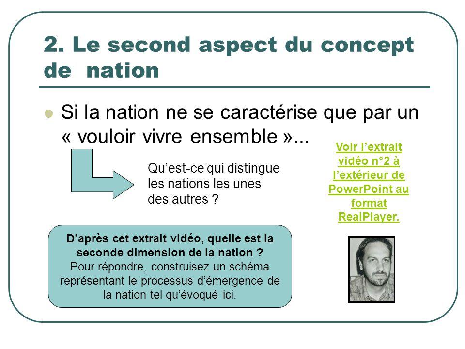2. Le second aspect du concept de nation