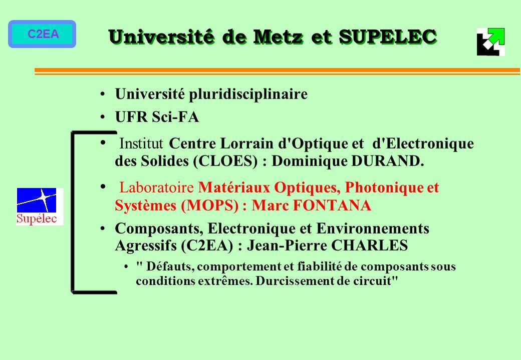 Université de Metz et SUPELEC