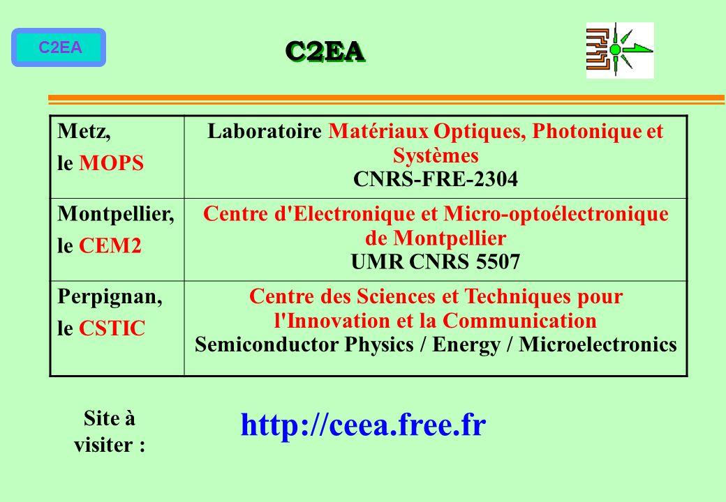 Laboratoire Matériaux Optiques, Photonique et Systèmes CNRS-FRE-2304