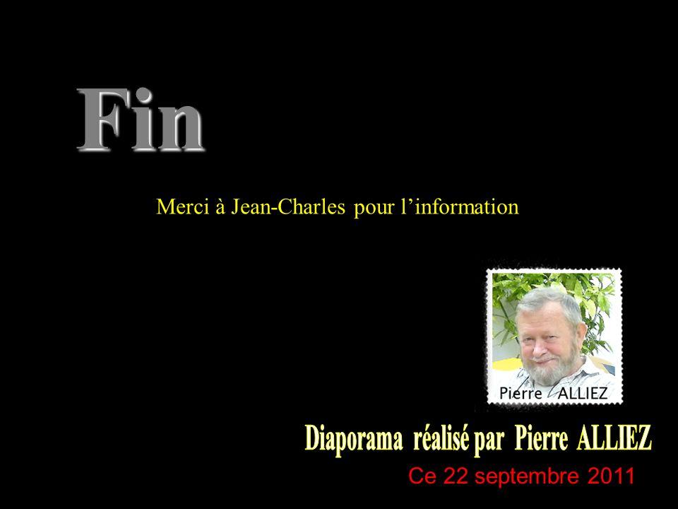 Diaporama réalisé par Pierre ALLIEZ