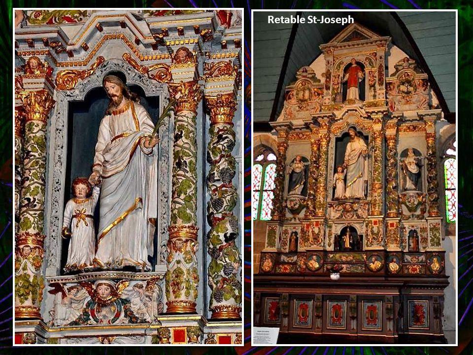 Retable St-Joseph