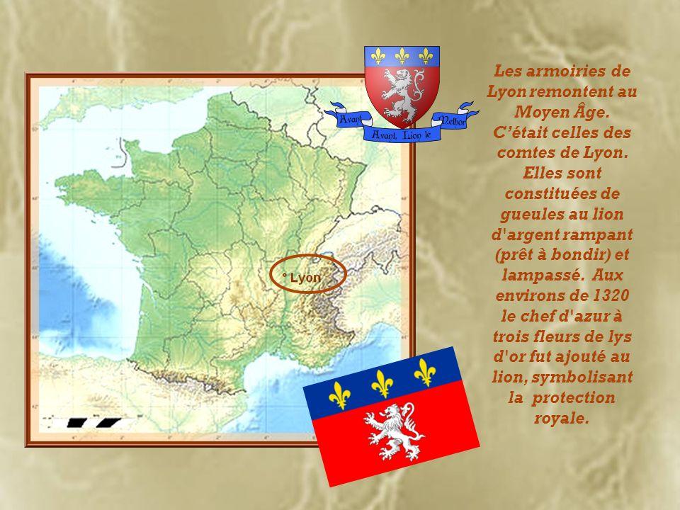 Les armoiries de Lyon remontent au Moyen Âge