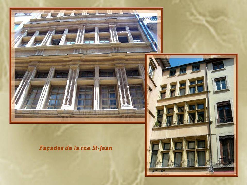 Façades de la rue St-Jean