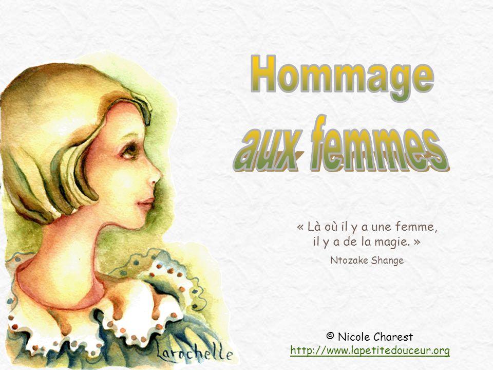 © Nicole Charest http://www.lapetitedouceur.org