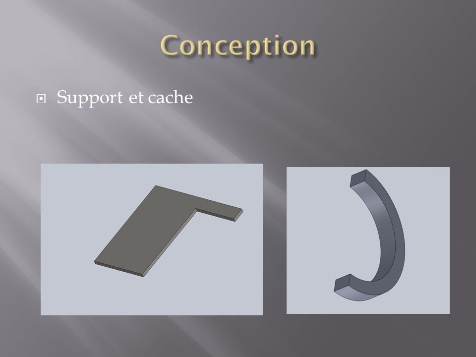 Conception Support et cache
