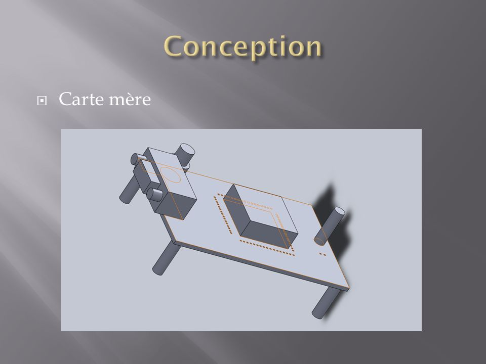 Conception Carte mère