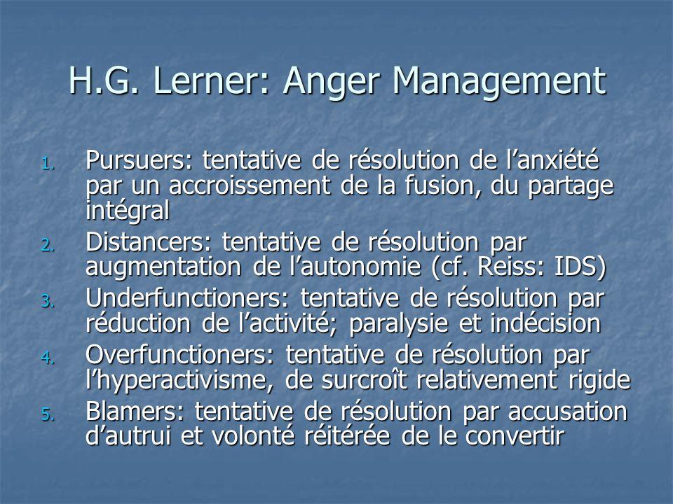 H.G. Lerner: Anger Management
