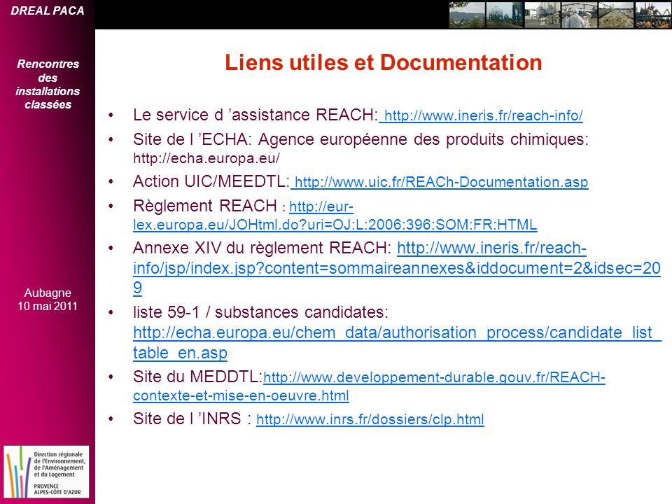 Liens utiles et Documentation