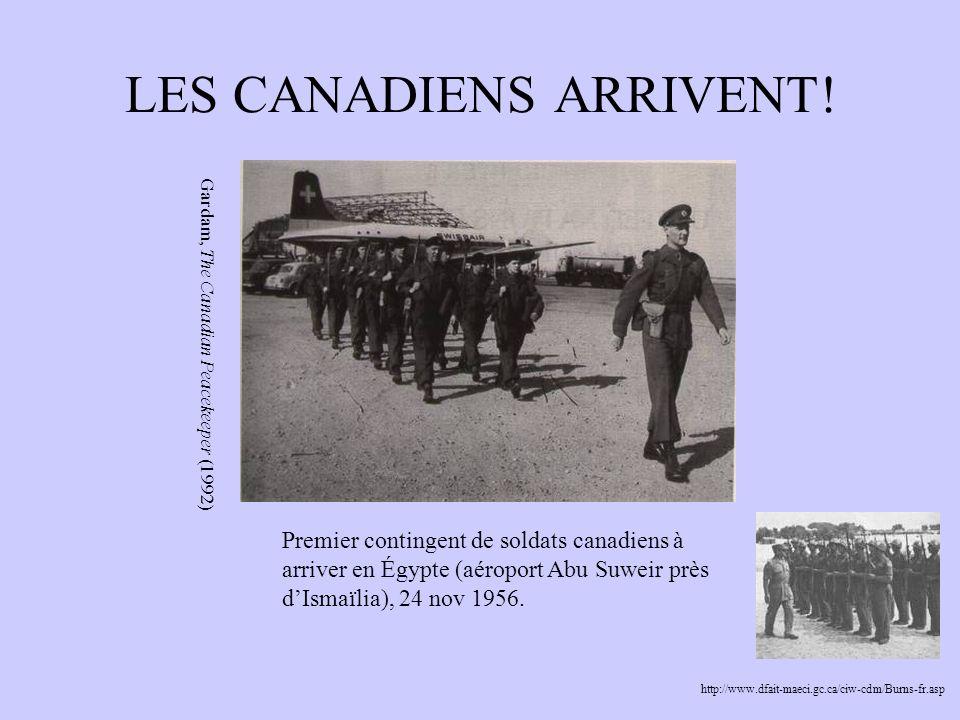 LES CANADIENS ARRIVENT!