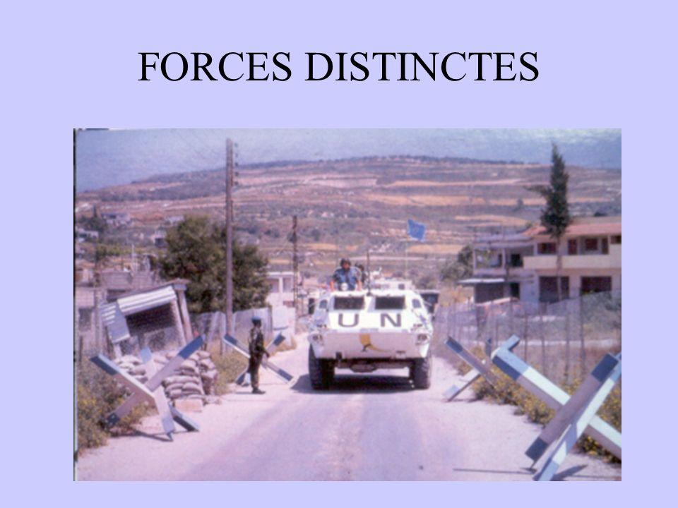 FORCES DISTINCTES
