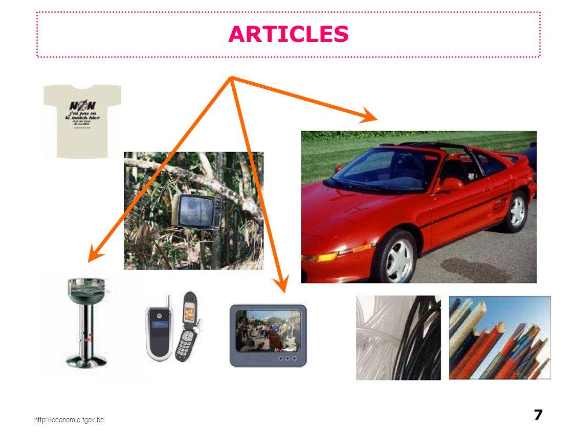ARTICLES 7 http://economie.fgov.be