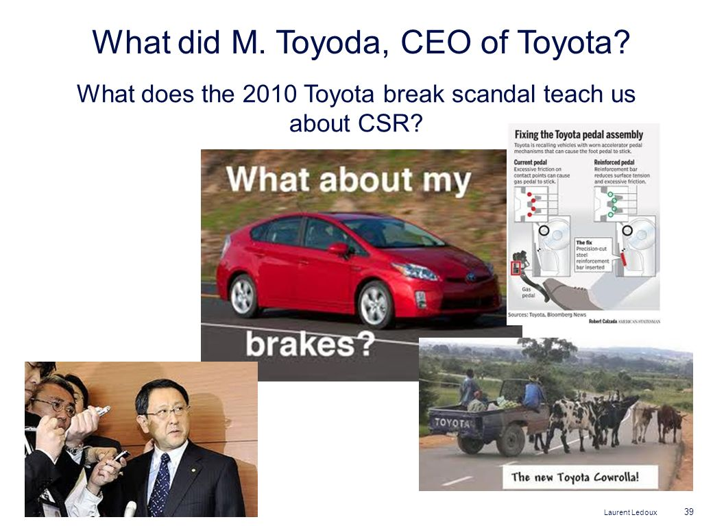 What did M. Toyoda, CEO of Toyota