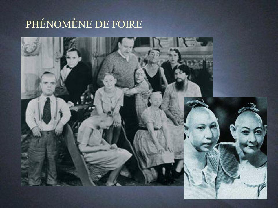 PHÉNOMÈNE DE FOIRE