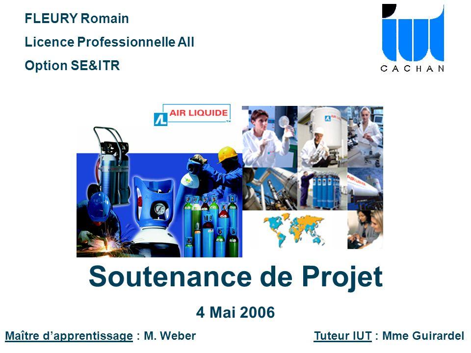 Soutenance de Projet 4 Mai 2006 FLEURY Romain