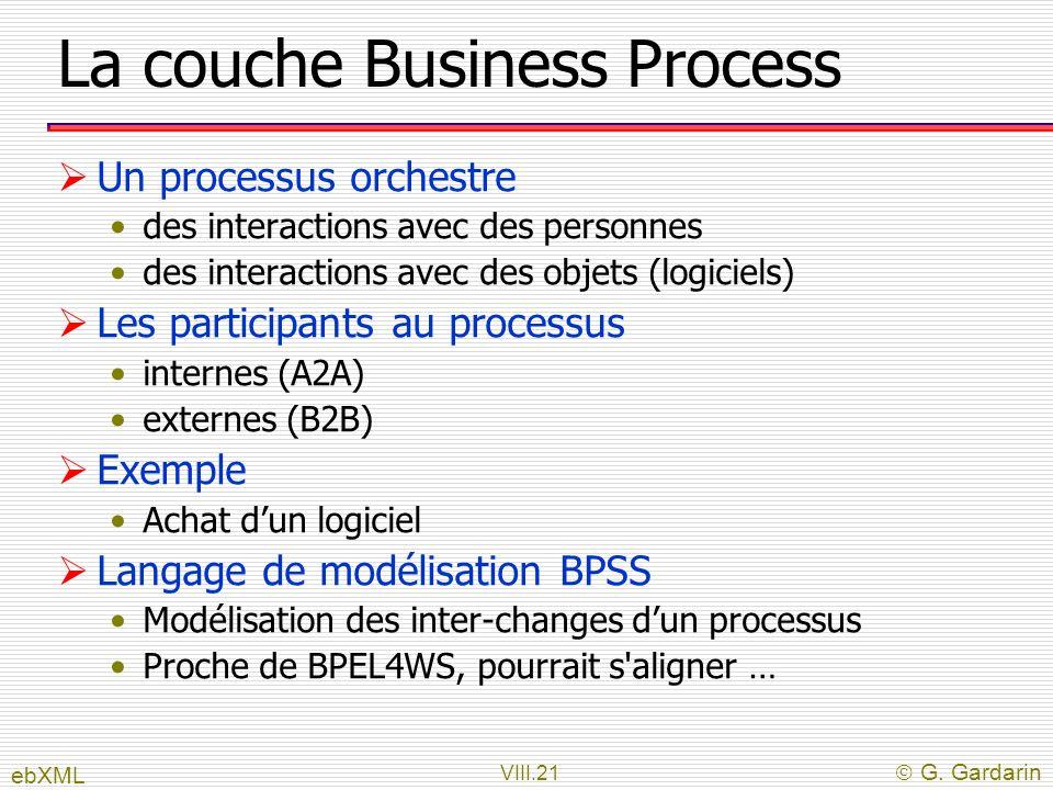 La couche Business Process
