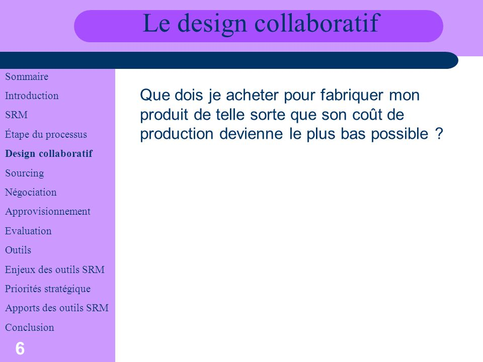 Le design collaboratif