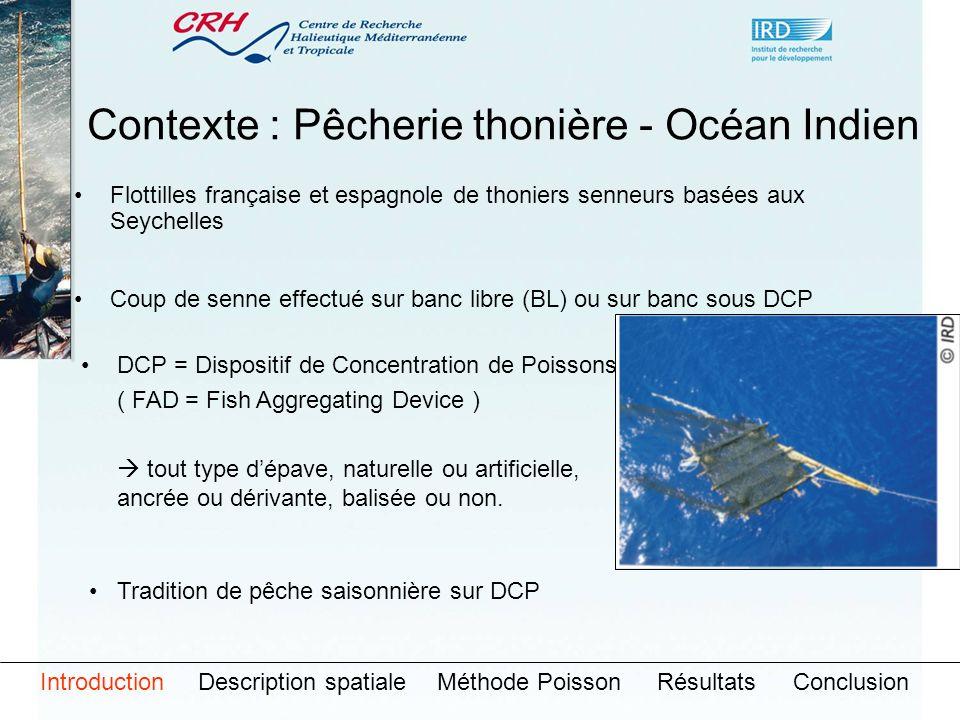 Contexte : Pêcherie thonière - Océan Indien