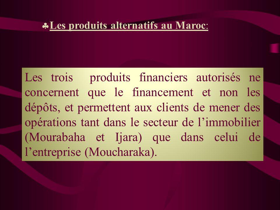Les produits alternatifs au Maroc: