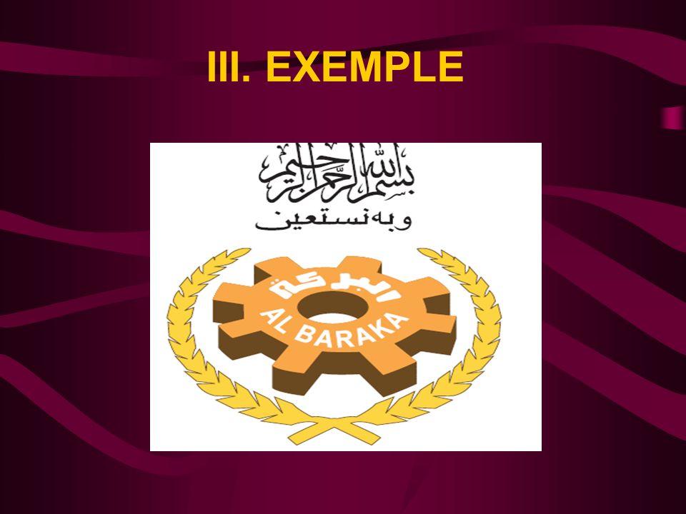 III. EXEMPLE