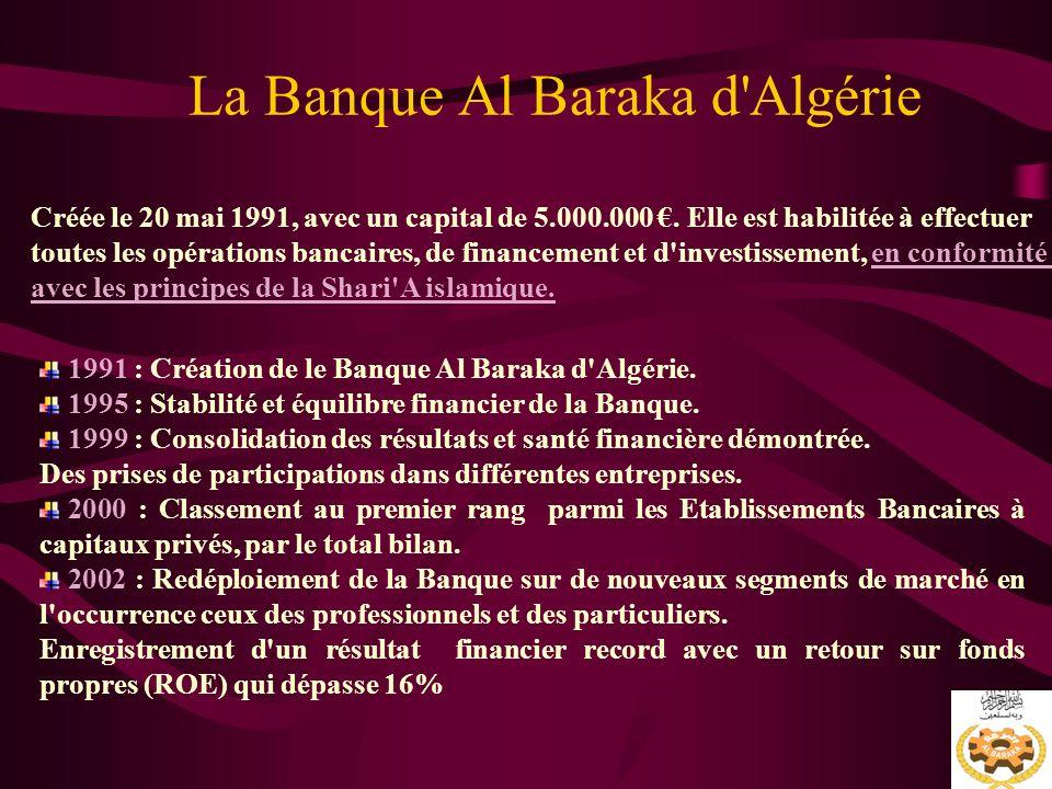 La Banque Al Baraka d Algérie