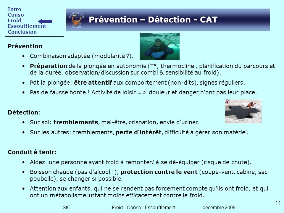 Prévention – Détection - CAT