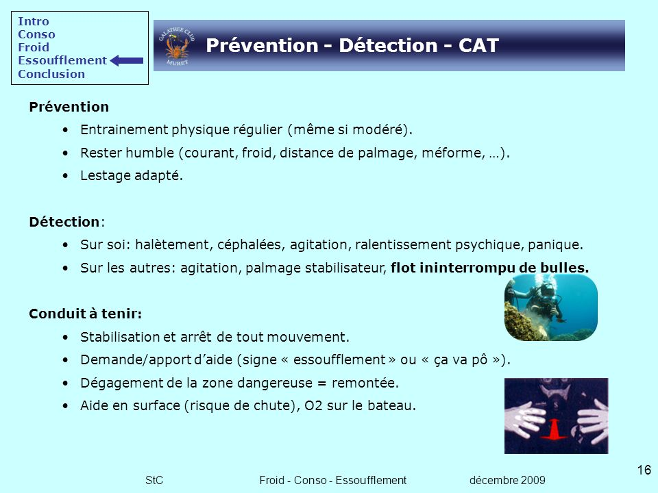 Prévention - Détection - CAT