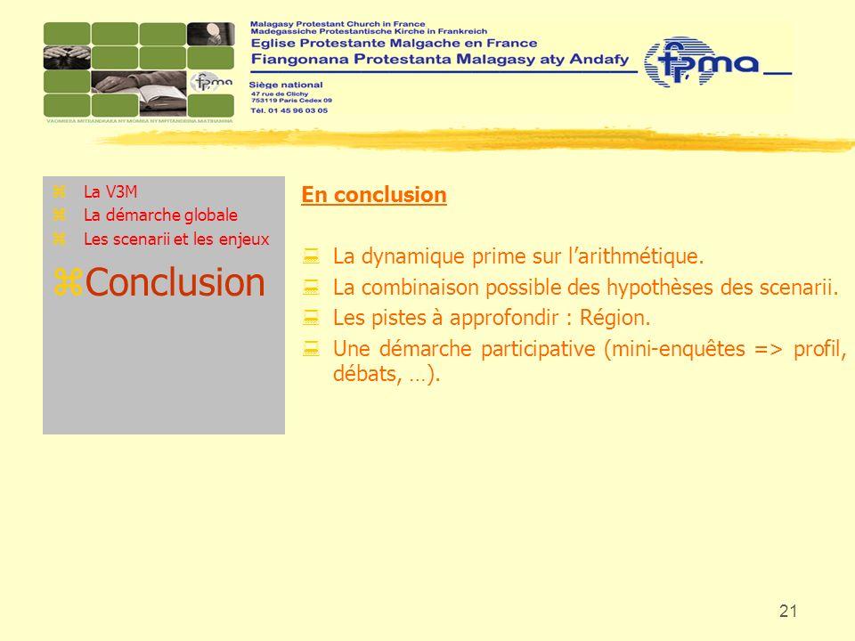 Conclusion En conclusion La dynamique prime sur l'arithmétique.