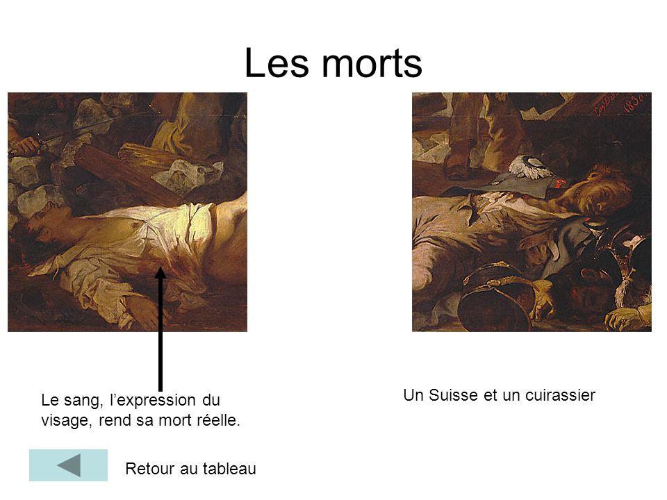 Les morts Un Suisse et un cuirassier