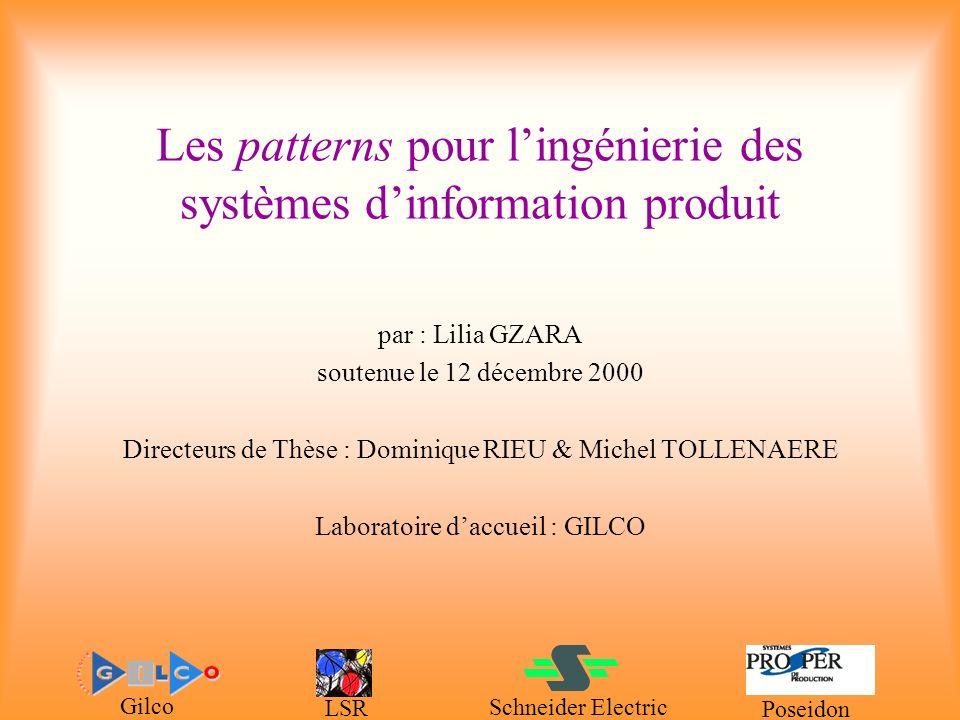 Les patterns pour l'ingénierie des systèmes d'information produit