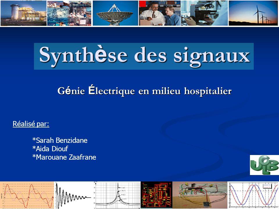 Génie Électrique en milieu hospitalier