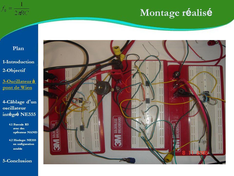 Montage réalisé Plan 1-Introduction 2-Objectif