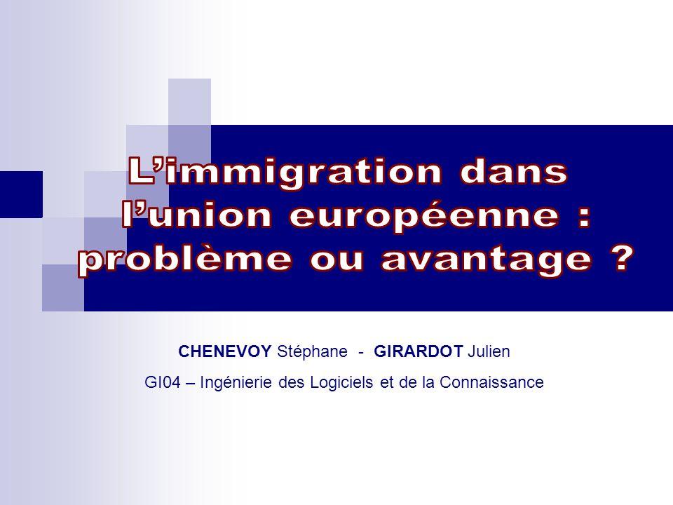 L'immigration dans l'union européenne : problème ou avantage