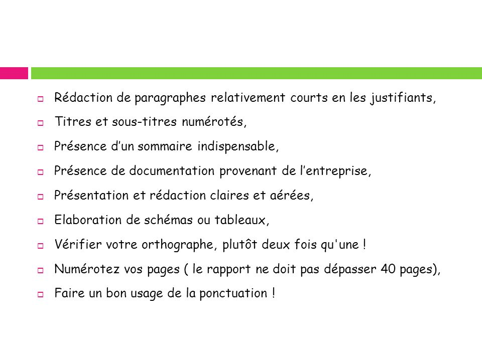 Rédaction de paragraphes relativement courts en les justifiants,