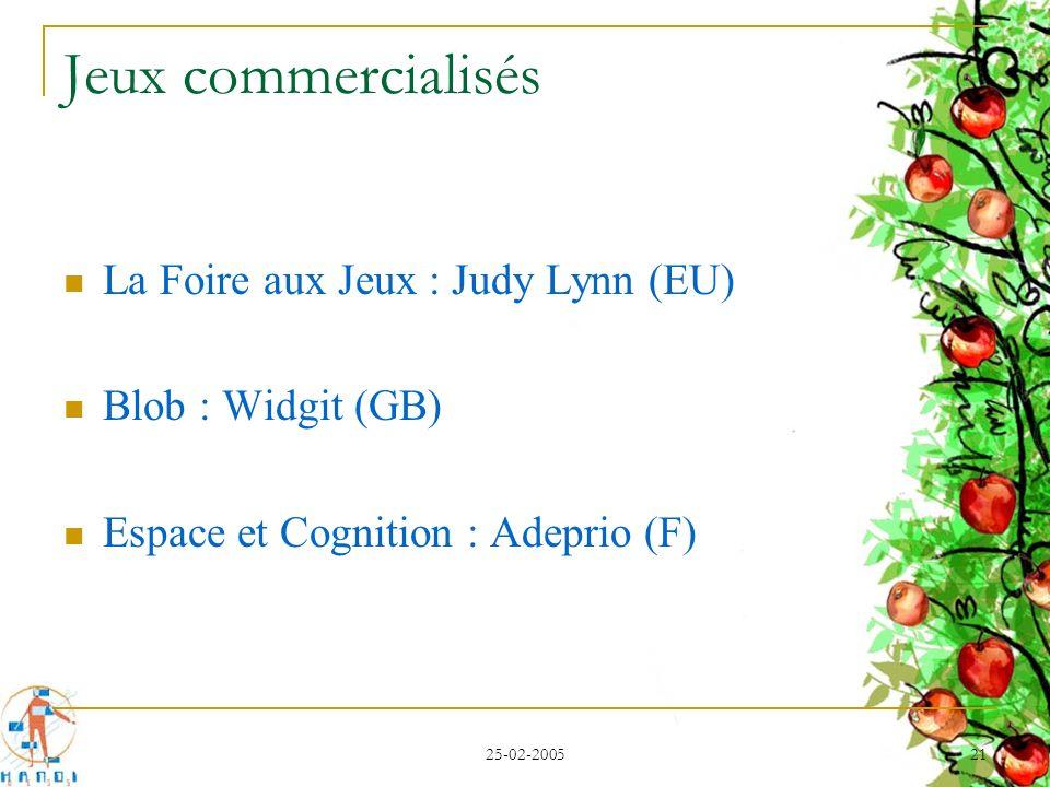 Jeux commercialisés La Foire aux Jeux : Judy Lynn (EU)