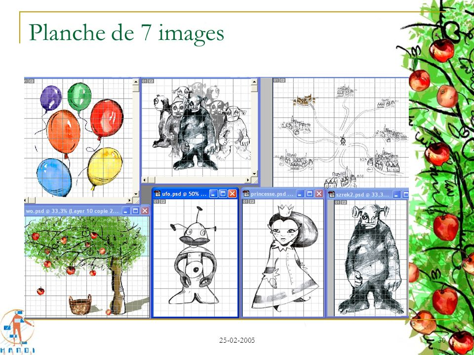 Planche de 7 images 25-02-2005