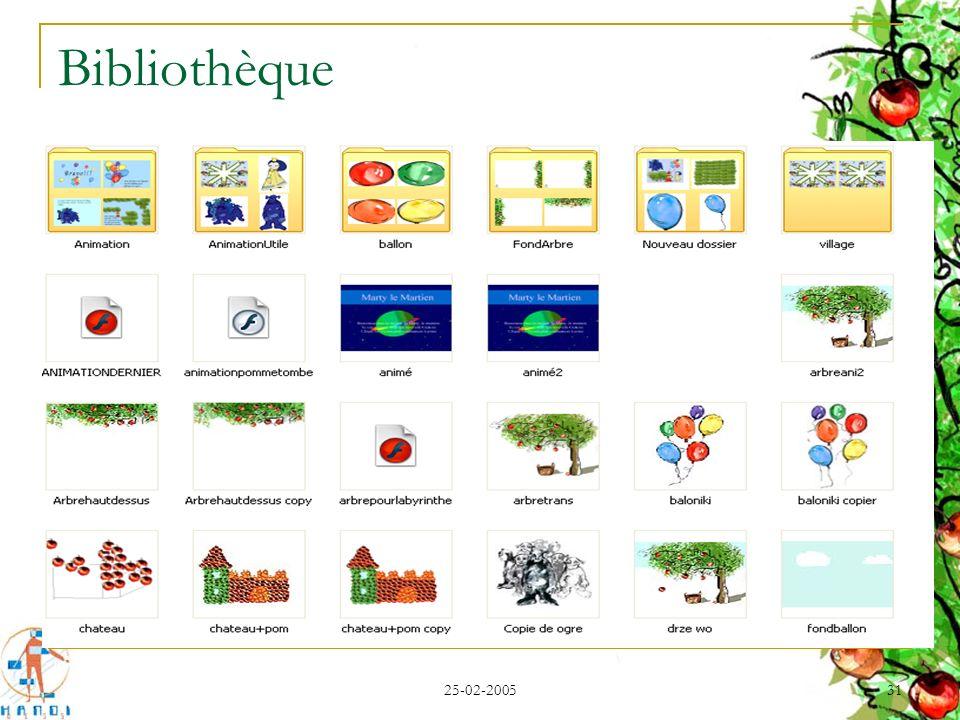 Bibliothèque 25-02-2005