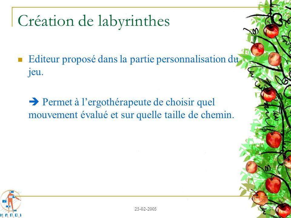 Création de labyrinthes