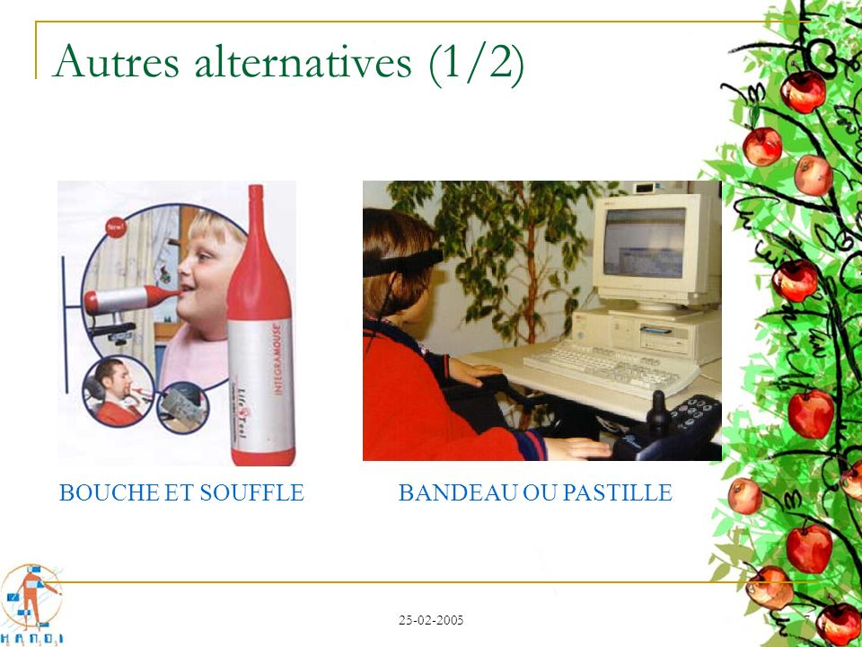 Autres alternatives (1/2)