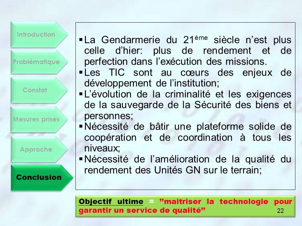 Les TIC sont au cœurs des enjeux de développement de l'institution;