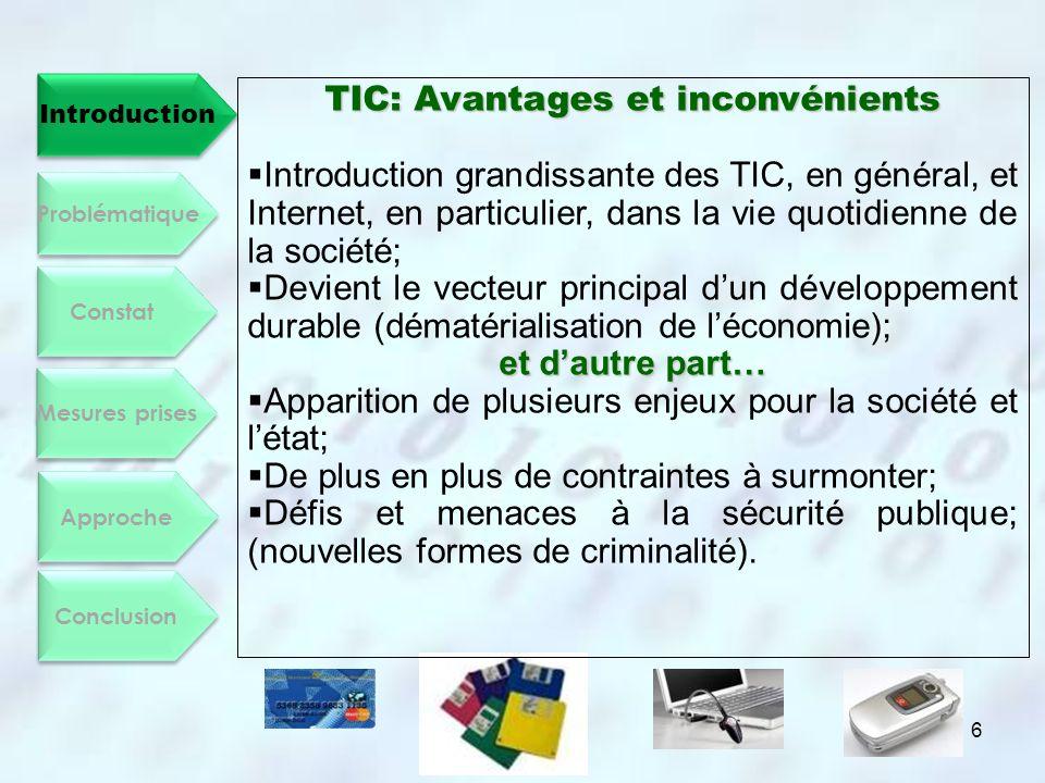 TIC: Avantages et inconvénients