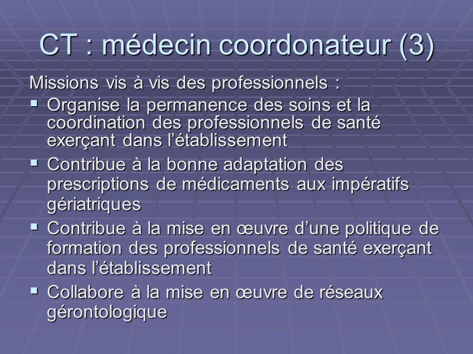CT : médecin coordonateur (3)