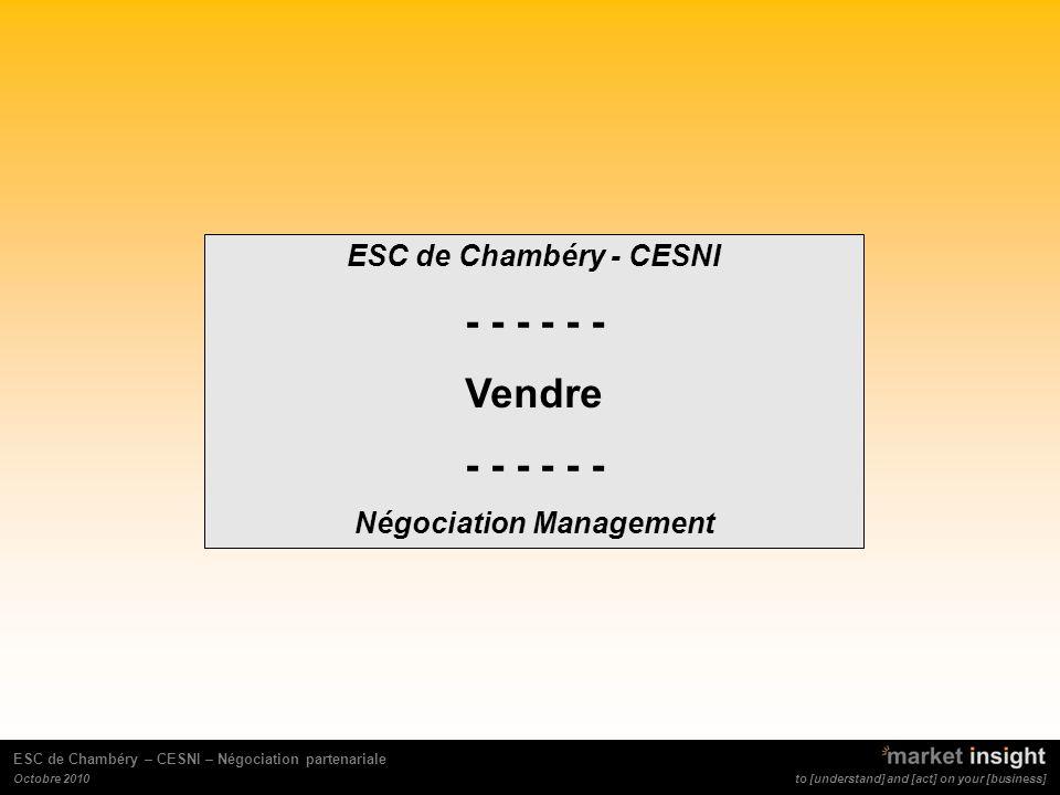 Négociation Management