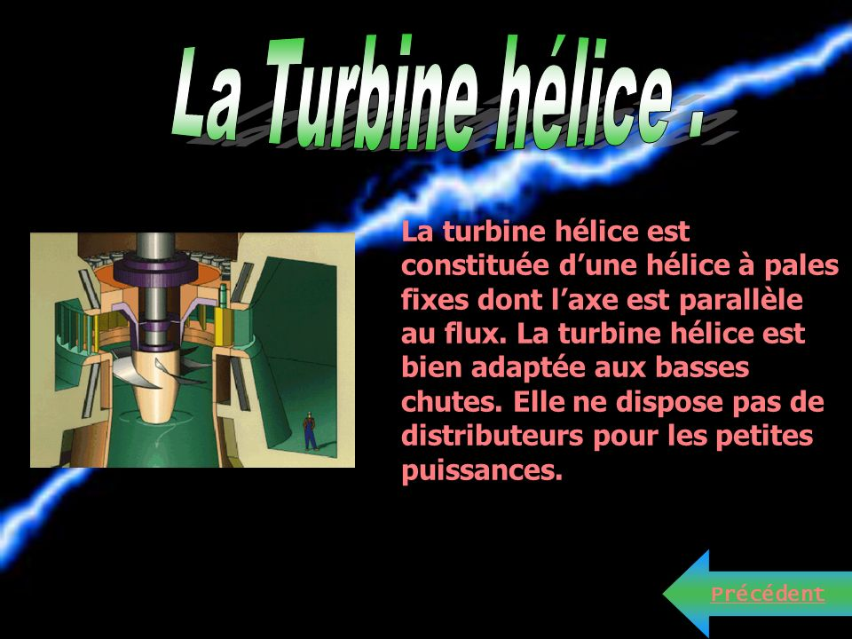 La Turbine hélice .